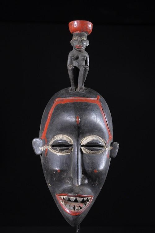 Masque Kpeliyé - Senoufo / Koulfo- Côte d'Ivoire