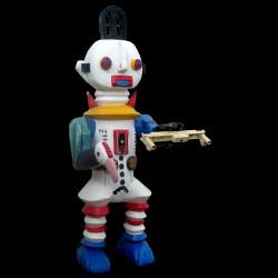 Robot white - Sculpture...