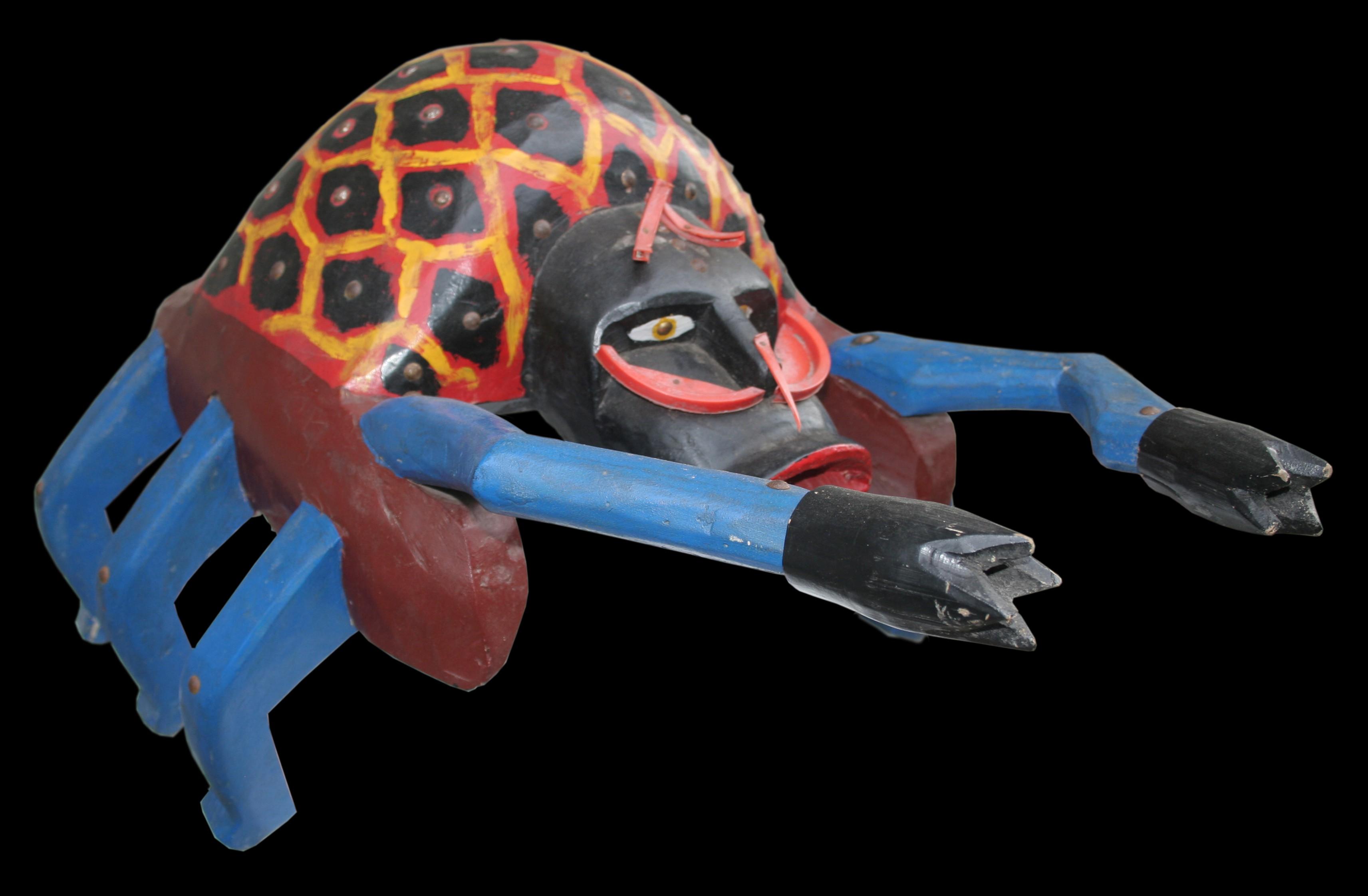 Spider - Sculpture polychrome - Camara Demba - 2010