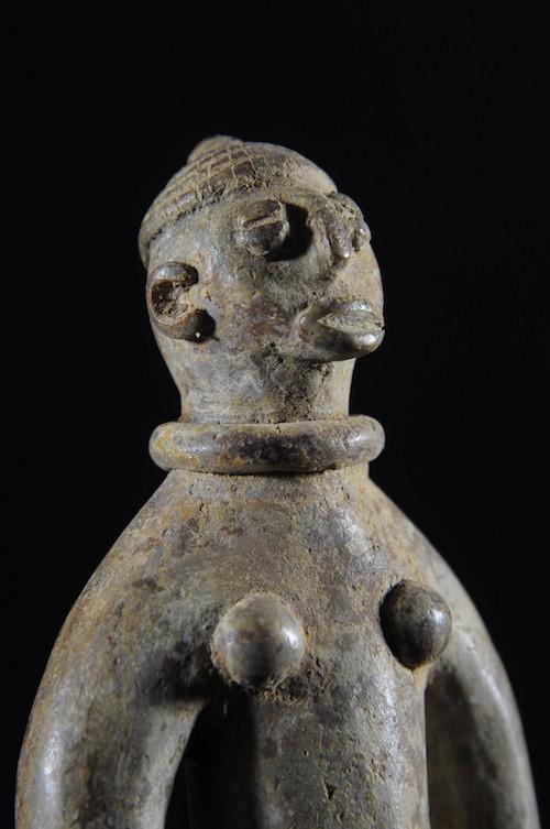Androgyne en bronze - Lobi - Burkina Faso