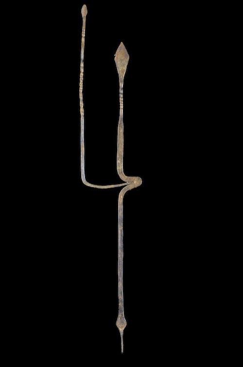 Monnaie primitive serpent - Bana - Cameroun