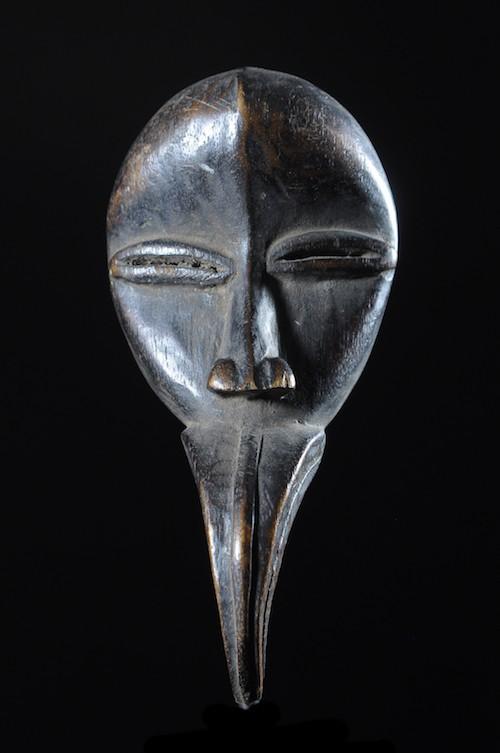 Masque passeport à bec - Dan / Mahou - Côte d'Ivoire