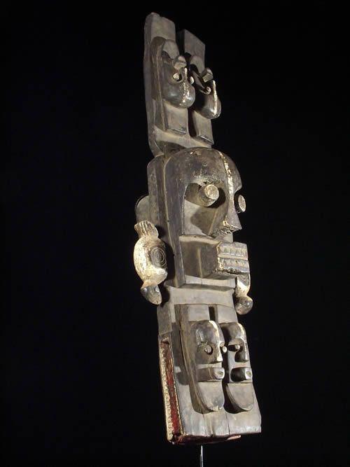 Masque cimier anthropomorphe - Ethnie Idjo - Nigeria - Afrique