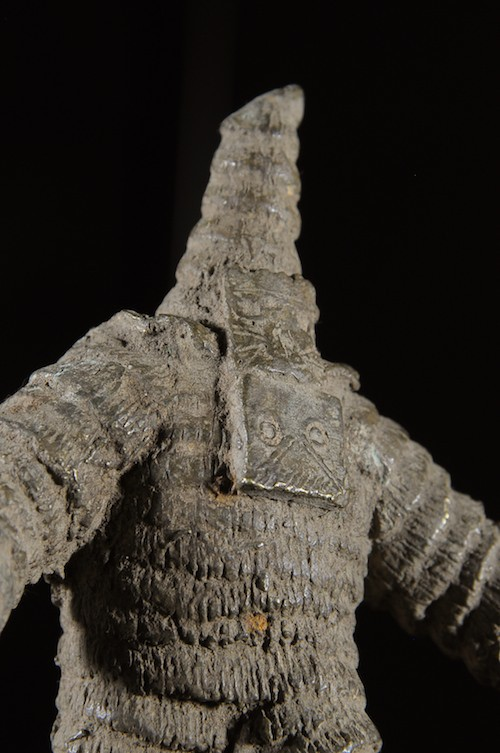 Personnage Masque en Bronze -  Mossi Boulsa - Burkina Faso