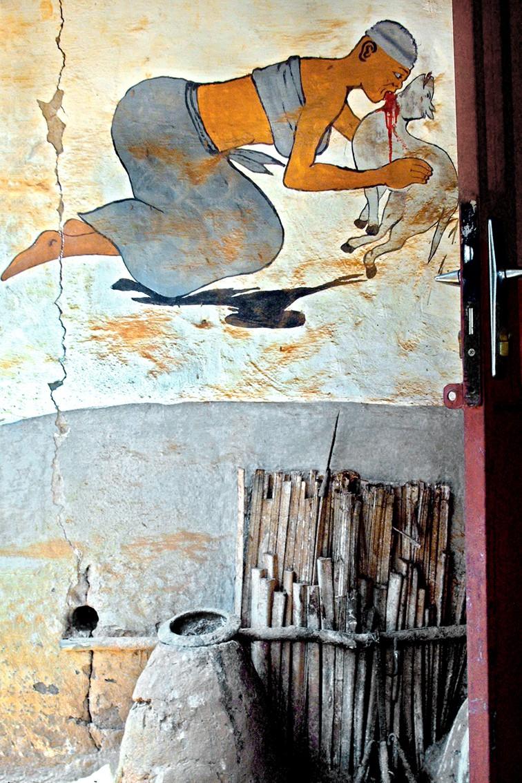 Autel sacrificiel Vaudou - Atelier Avant Seize - Tirage contemporain