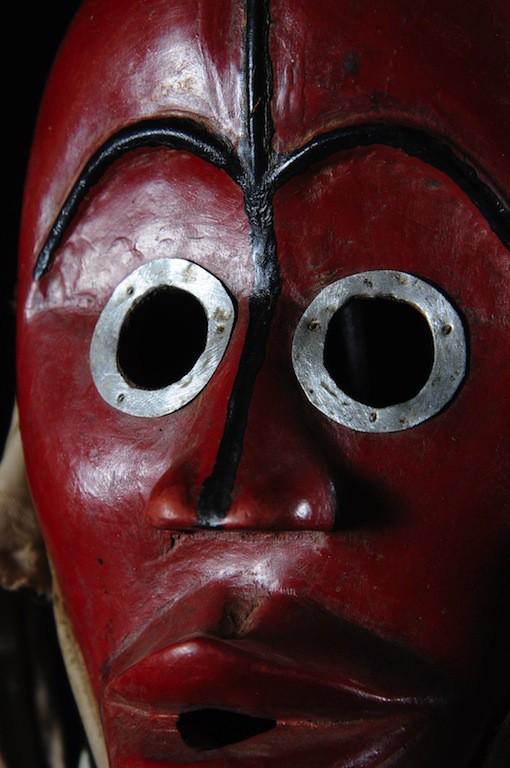Masque de Feu - Dan / Yacouba - Côte d'Ivoire