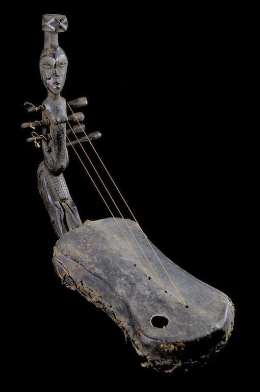 Harpe Arquee - Mangbetu - RDC Zaire - Cordophones