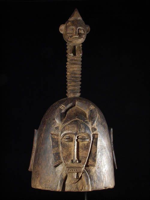 Masque casque Kpeliyee / Poro - Senoufo - Cote d'Ivoire