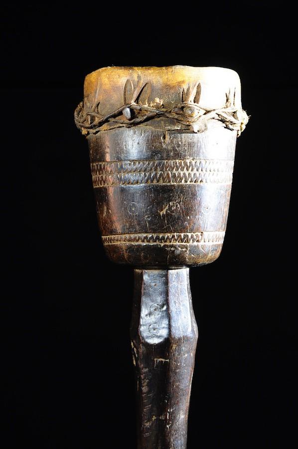 Tambour une peau - Makonde / Wamakonde - Tanzanie
