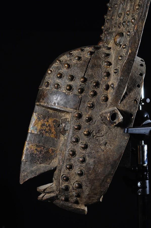 Masque peigne Ntomo - Bambara / Marka - Mali