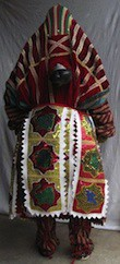 Egun - Costume de danse Adjina - Yoruba - Benin / Nigeria - Egungun