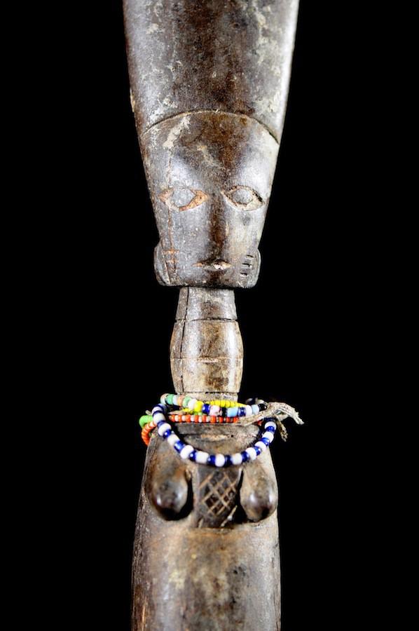Poupee de fecondite ancienne - Fanti - Ghana