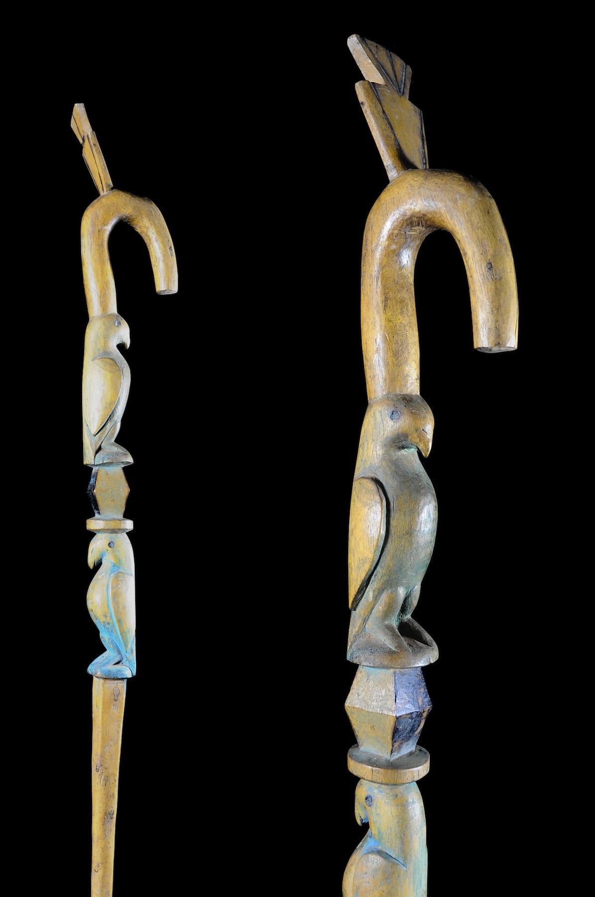 Canne polychrome - Gurunsi - Burkina Faso - Objets de regalia