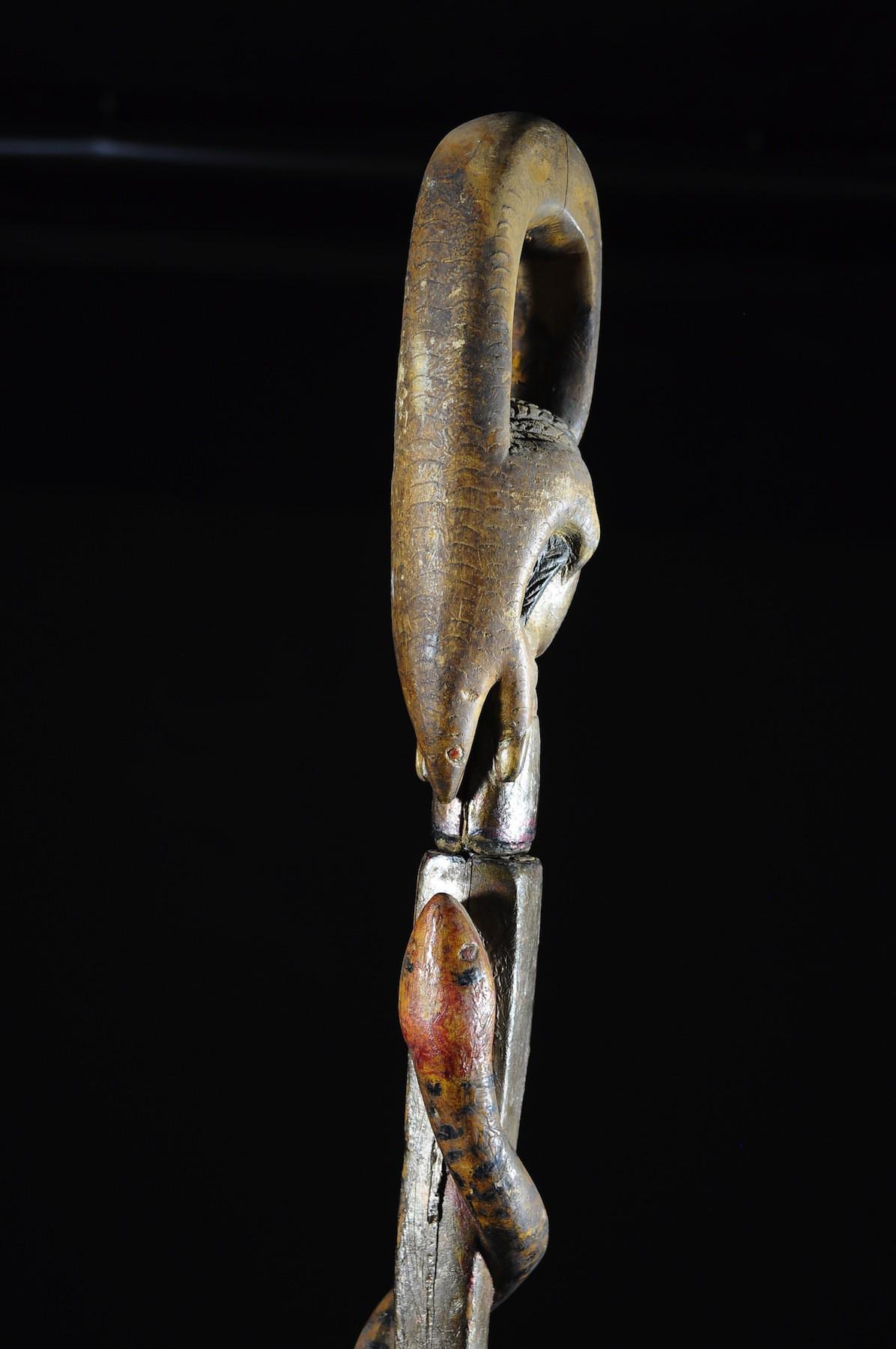 Canne epee de dignitaire - Baoule - Côte d'Ivoire - Objets de regalia