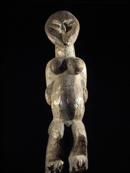 Statuette de fecondite - Suku - Zaire - Sculptures Suku