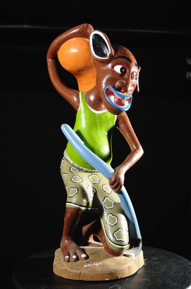 Sculpture Shetani Fermier - Agostino Malaba - Makonde