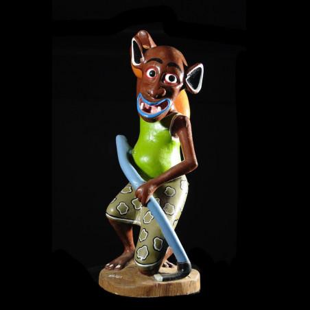 Sculpture Shetani Fermier -...