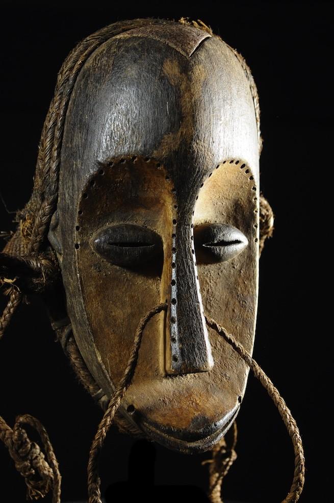 Masque de ceremonie - Hongwe / Mahongwe - Congo / Gabon