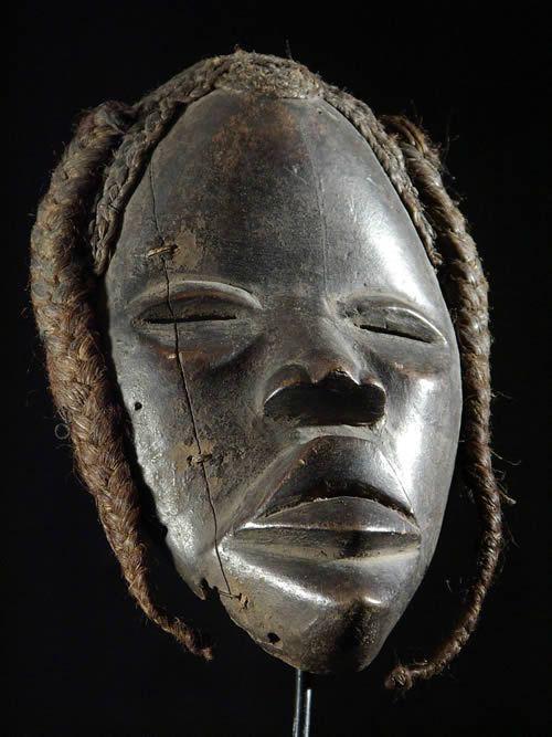 Masque ancien - Dan Yacouba - Liberia - Masques africains