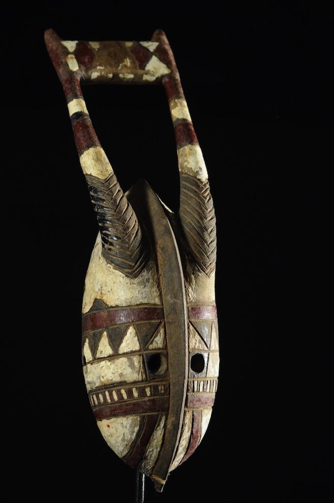 Masque Antilope polychrome - Mossi / Gurunsi - Burkina Faso