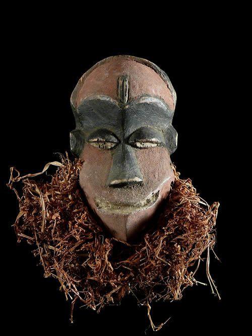 Masque Passeport - Pende - RDC Zaire