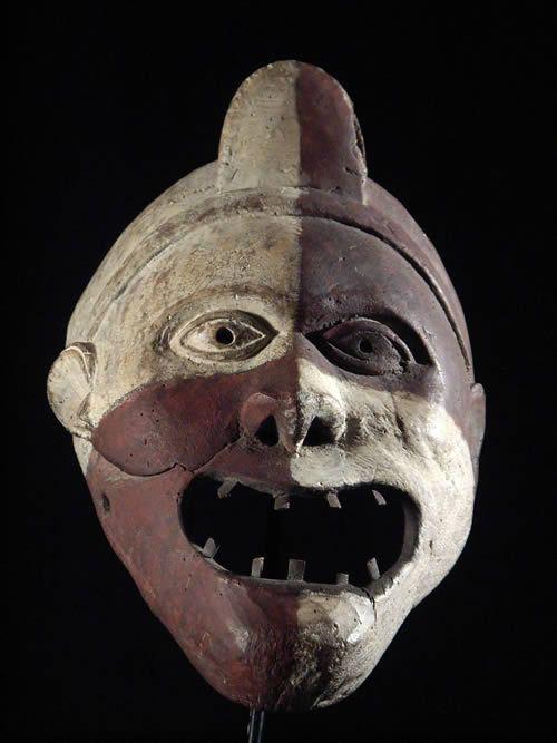 Masque polychrome - Kongo / Woyo - Zaire