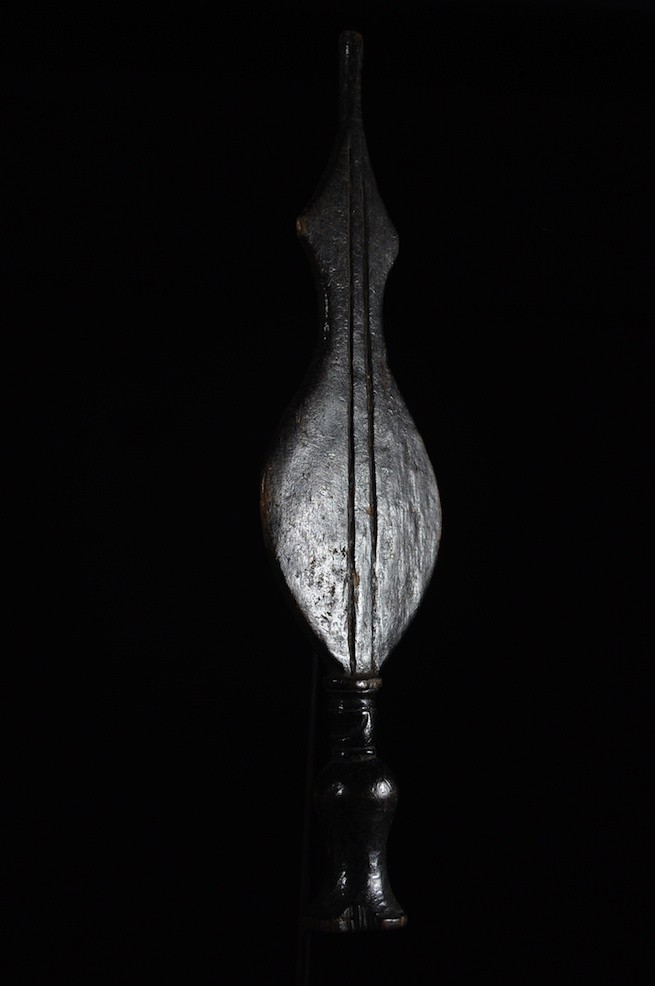 Couteau Glaive Ikul Bois - Kuba / Bakuba - Rdc Zaire