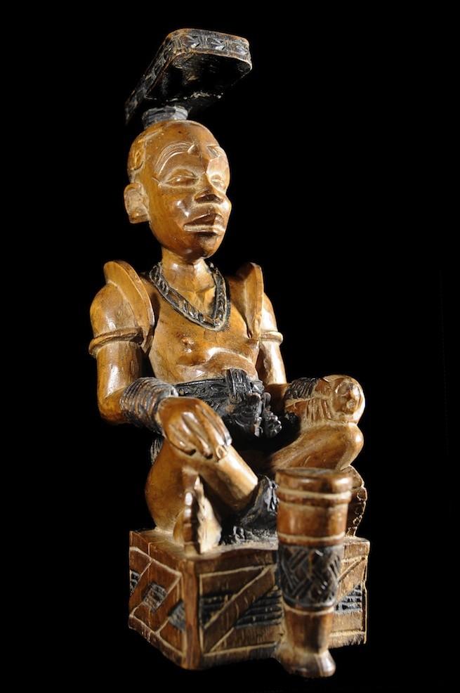 Statue Cultuelle Ndop - Kuba - RDC Zaire