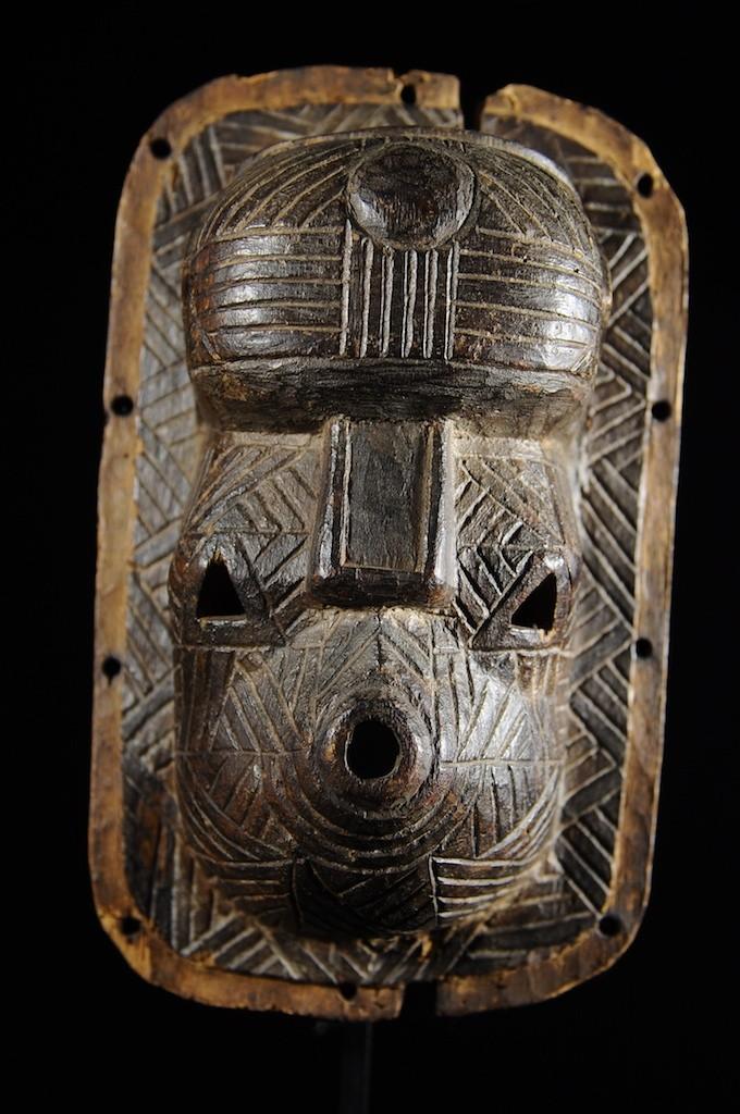 Masque Ancien - Tetela - RDC Zaire - Masques africains