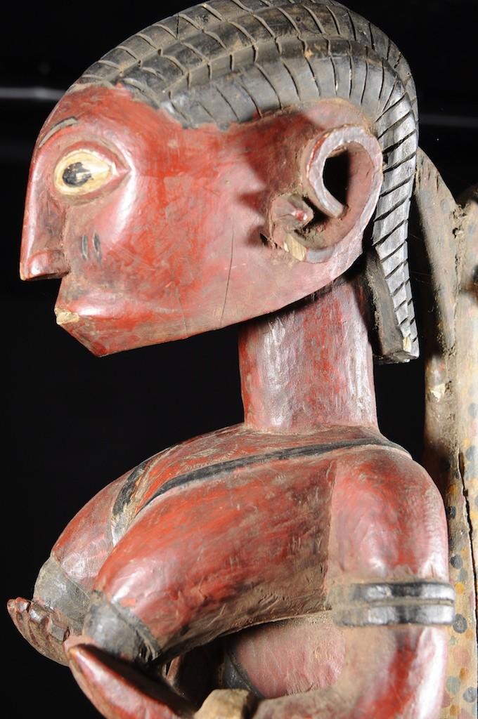 Statue Marotte de danse Mami Wata - Baga - Sierra Leone