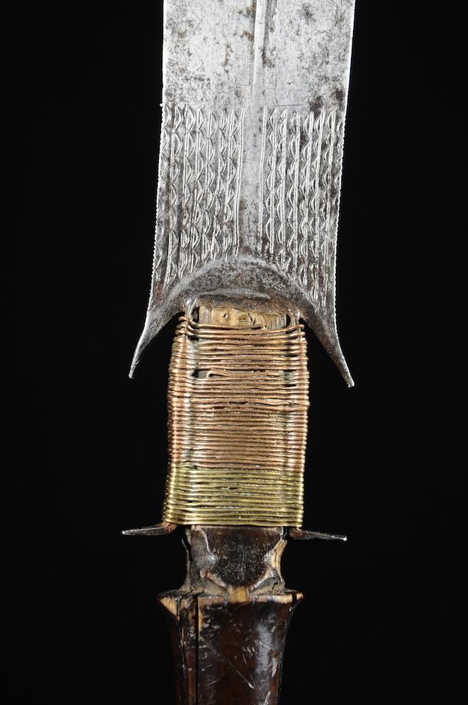 Couteau Glaive - Fang - Gabon