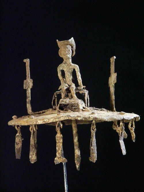 Asen / autel portatif - Ethnie Fon - Benin - Rites