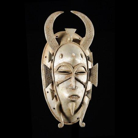 Masque Kpeliye en aluminium...
