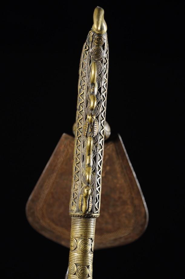 Darba Régalia en bronze - Bini - Nigéria