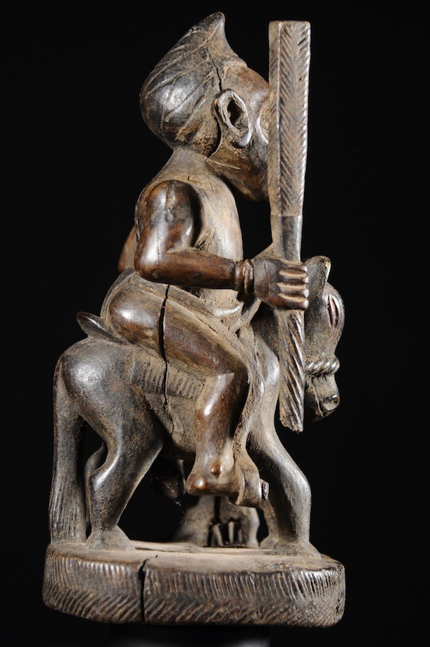 Cavalier et son cheval - Kongo Vili - RDC Zaire