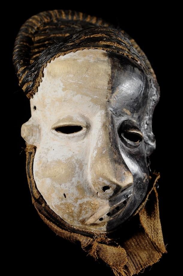 Masque Mbangu / Mpangu de maladie - Pende - RDC Zaire