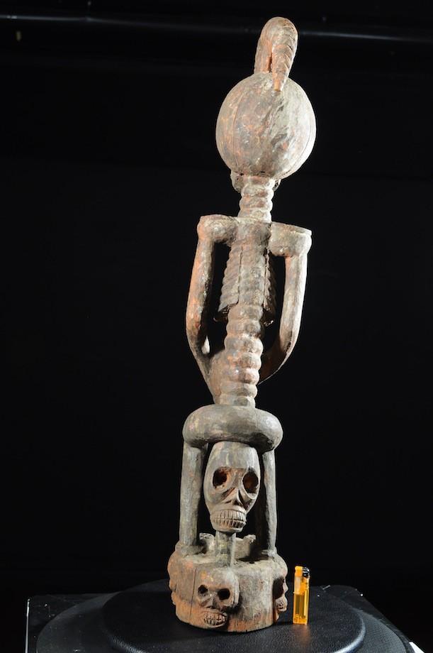 Squelette Commemoratif Janiforme - Tiv - Nigeria