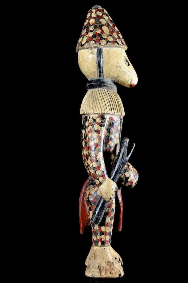 Gardien de la case du Poro - Kafigueledjo - Senoufo - Côte d'Ivoire