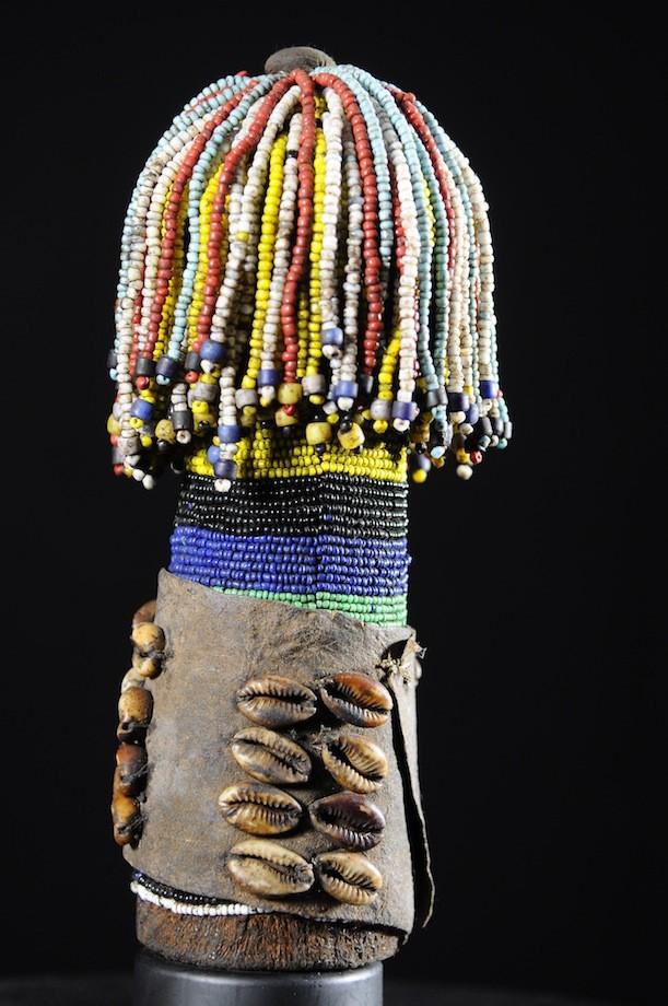 Poupee rituelle - Ethnie Ambo / Mwila - Angola - Namibie