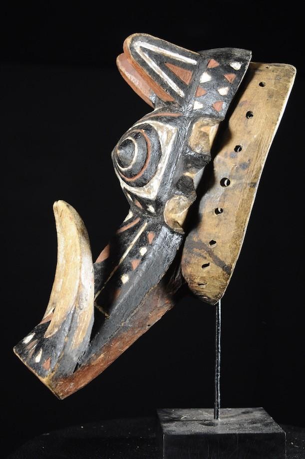 Masque Zoomorphe Phacochere - Bobo Fing - Burkina Faso