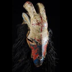 Masque Zoomorphe Chèvre -...