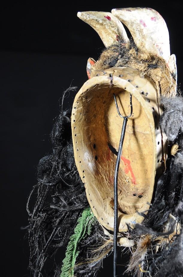 Masque Zoomorphe Chèvre - Wobe - Cote Ivoire