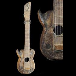 Guitare ancienne ou Banjo -...