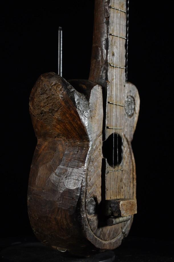 Guitare ancienne ou Banjo - Ngbaka - Republique Centrafrique