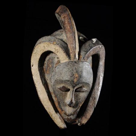 Masque Ekuk ancien - Kwele...