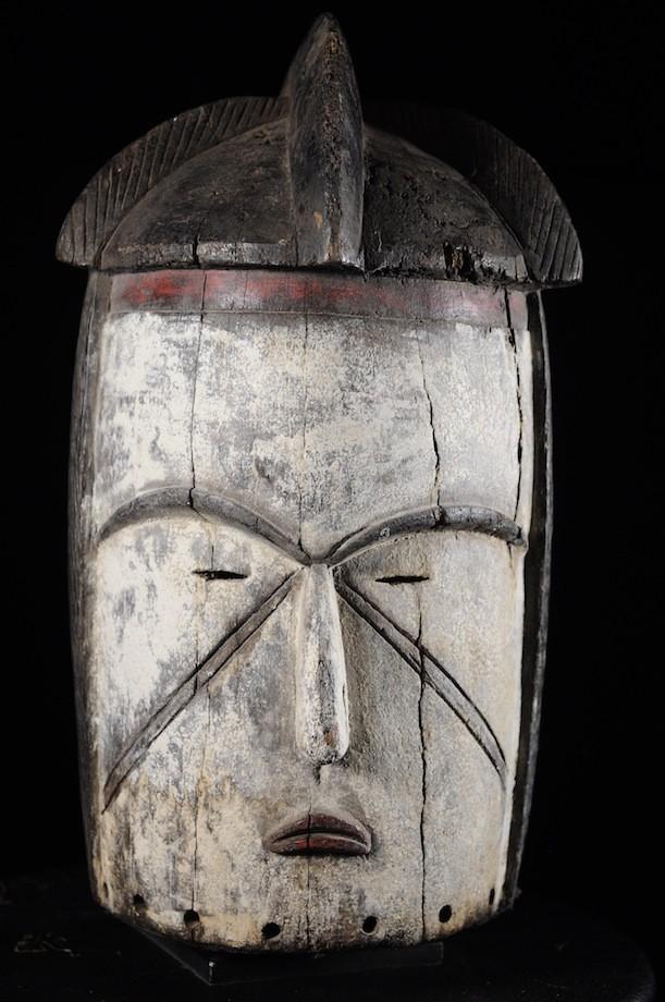 Masque casque de ceremonie - Fang - Gabon - Masques du Gabon