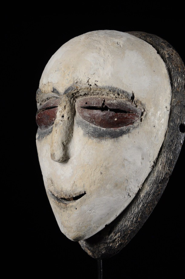 Masque Funeraire Okukwe - Galoa / Galwa - Gabon