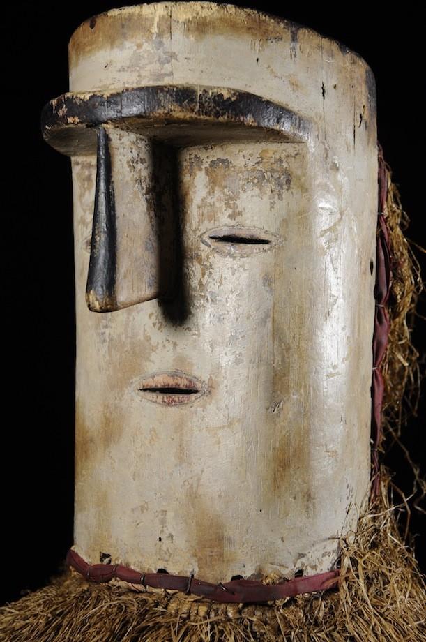 Masque de ceremonie Ekekek ou Bikeghe - Fang - Gabon - Masques du Gabon
