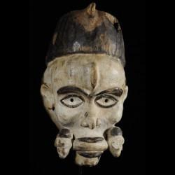 Masque portrait Blanc -...