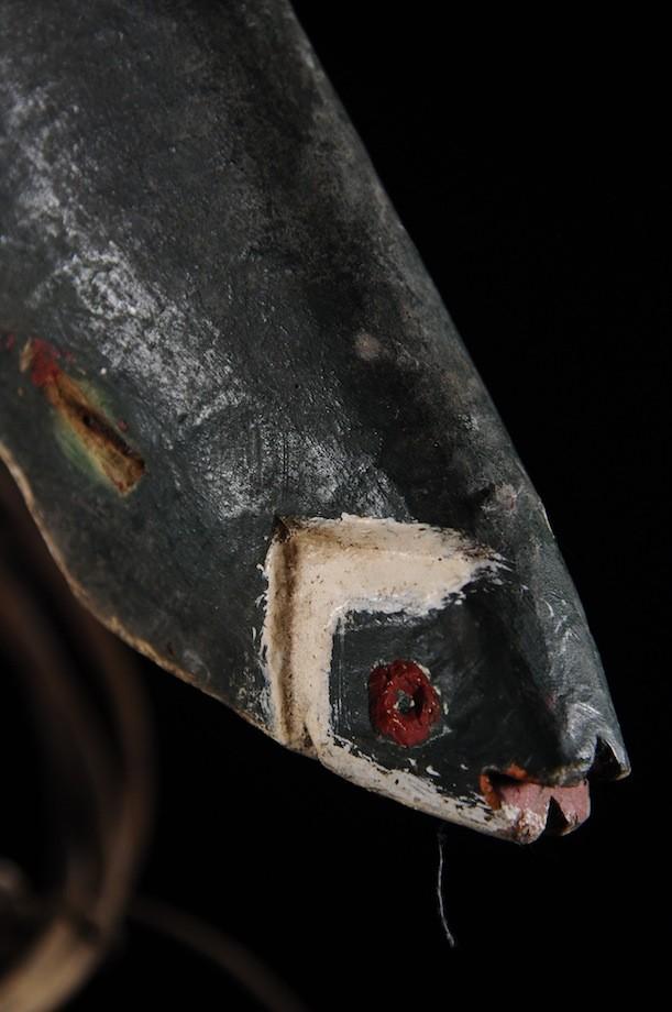 Masque Cimier Bini Oru Poisson - Ijo / Ijaw - Nigeria